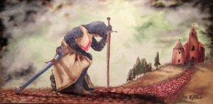 Keresztes lovagok sorozat: A pap