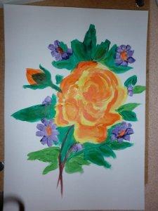 Andikám unokám festménye...