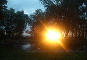 Szellemkép a Balatonnál