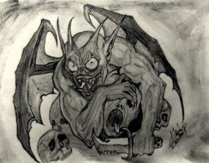 Kedvenc témám,a fantazy rajz.