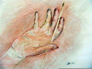 a kezem