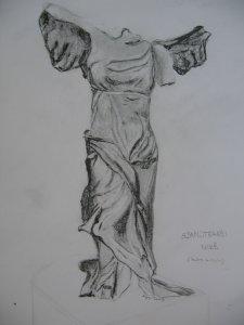 Szamotrakéi Niké szobra