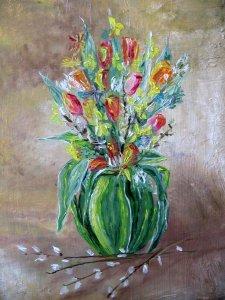nárciszok és tulipánaok
