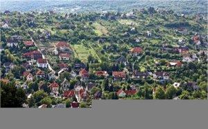 Makett ,                   Pécs nyugat-részlet