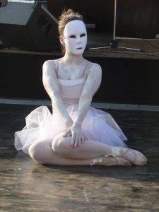 Balerina a POSZT-on