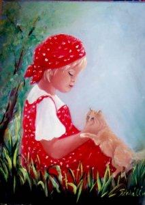 Babocska és a cica
