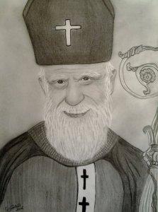 Az idős Szent Márton