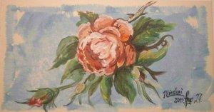 ...egy rózsaszál...