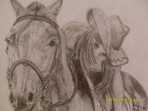 Kíra és a lova Csobánc