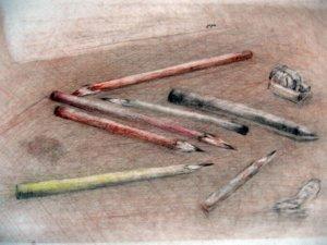 kedvenc ceruzáim.