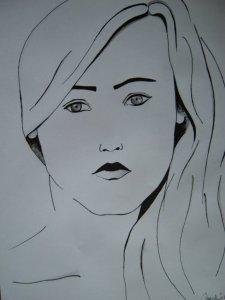 A lány