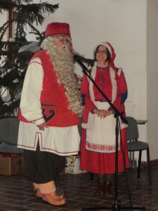 A Finnországi Mikulás...